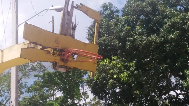 Alcalde y Ministerio del Deporte inician remozamiento cancha sector Los Coco